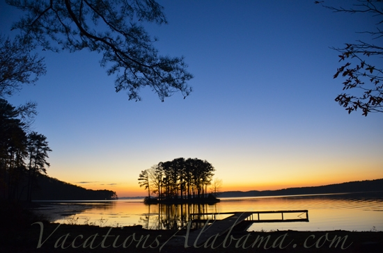 Lake Guntersville-Alabama Sunset
