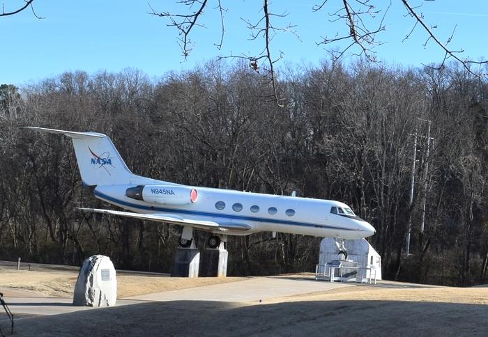 NASA-945 Shuttle Training Aircraft US-Space and Rocket Center-Huntsville,Alabama