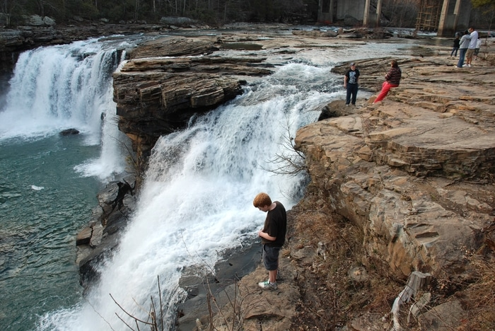 Little River Falls-Little River Canyon National Preserve-Dekalb County-Alabama