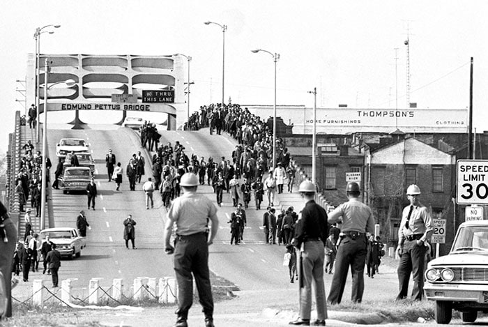 Bloody Sunday Selma to Montgomery Marches 1965 -Edmund Pettus Bridge- Selma, Alabama