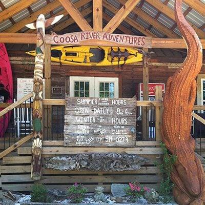 Coosa River Adventures- Kayak Canoe Coosa -River -Wetumpka Alabama-