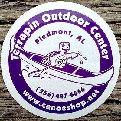 Terrapin Outdoor Center- Kayak and Canoe Sales Rentals on Terrapin Creek in Piedmont, Alabama in Calhoun County