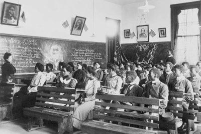 Tuskegee History Class- Copyprint 1902- Tuskegee Institute- Alabama National Historic Landmark