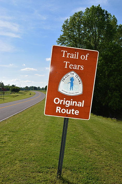 Trail Of Tears Original Route- Dekalb County, Alabama