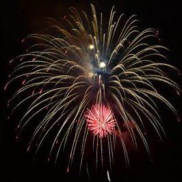 4th of July Fireworks Over Lake Guntersville