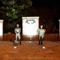 Bronze-Statues-Of-The-Band-Alabama-Fort-Payne