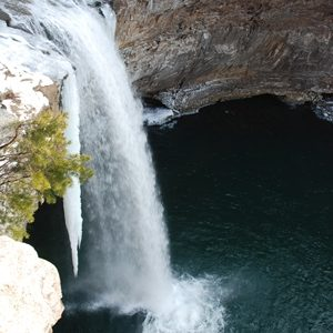 Desoto-Falls-Alabama-Ice
