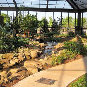 Huntsville Botanical Garden is located in Huntsville, Alabama