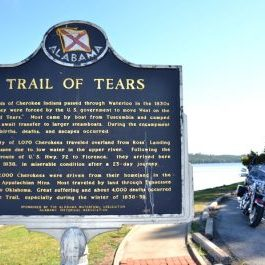 Trail of Tears National Historic Trail, Waterloo, Alabama